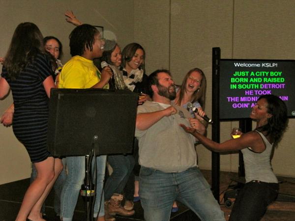 Karaoke with host